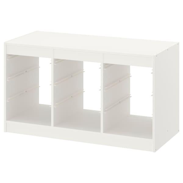 TROFAST Estrutura, branco, 99x44x56 cm