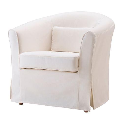 Tullsta capa de poltrona blekinge branco ikea for Ikea poltrona ektorp