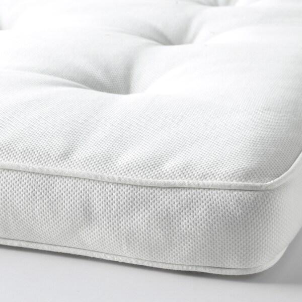 TUSTNA Sobrecolchão, branco, 140x200 cm