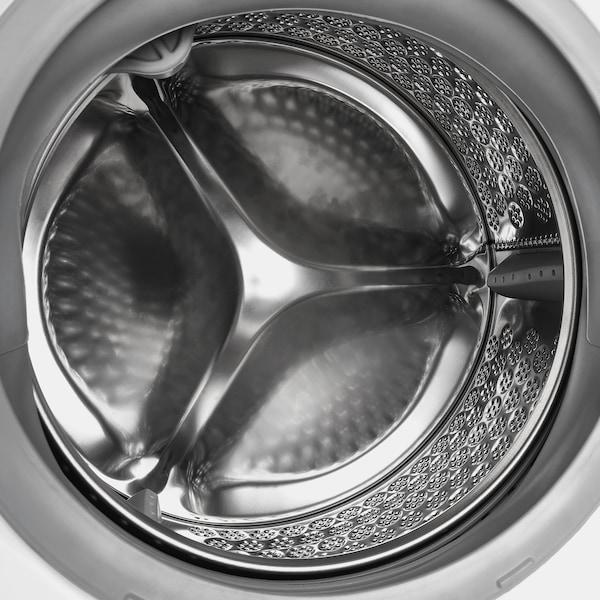 TVÄTTAD Máquina de lavar roupa integrada, branco