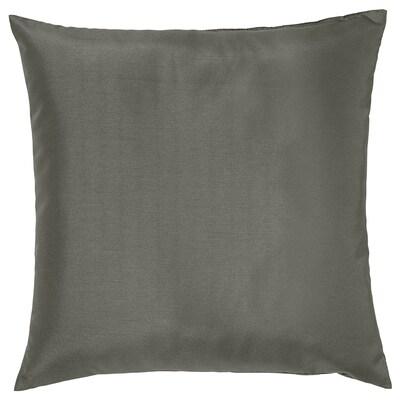 ULLKAKTUS Almofada, cinz, 50x50 cm
