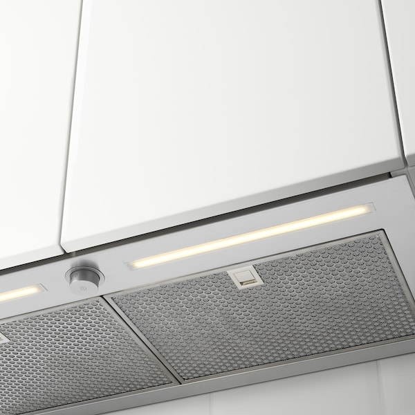UNDERVERK Exaustor integrado, aço inoxidável, 80 cm
