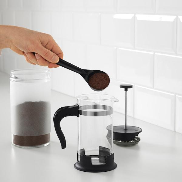 UPPHETTA Bule p/fazer café/chá, vidro/aço inoxidável, 0.4 l