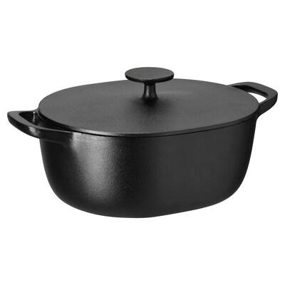 VARDAGEN Tacho c/tampa, ferro fundido, 5 l