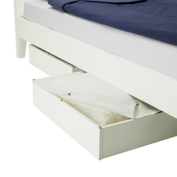 VARDÖ caixa de arrumação p/cama branco 13 cm 65 cm 70 cm 18 cm 62 cm 67 cm