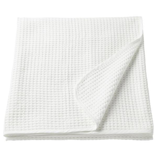 VÅRELD Colcha, branco, 150x250 cm