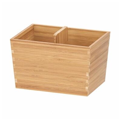 VARIERA Caixa c/pega, bambu, 24x17 cm