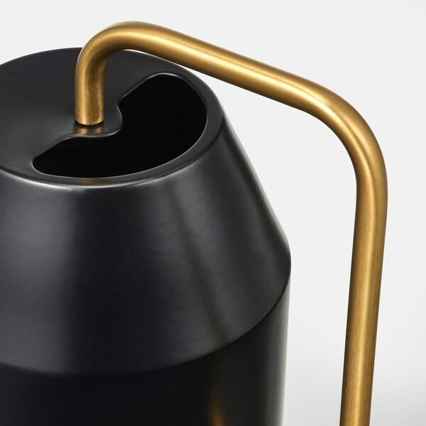 VATTENKRASSE Regador, preto/dourado, 0.9 l