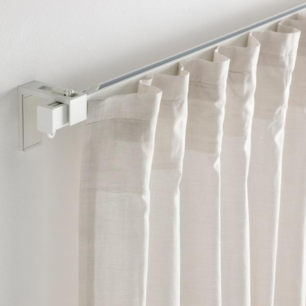 VIDGA Calha simples, /branco, 140 cm