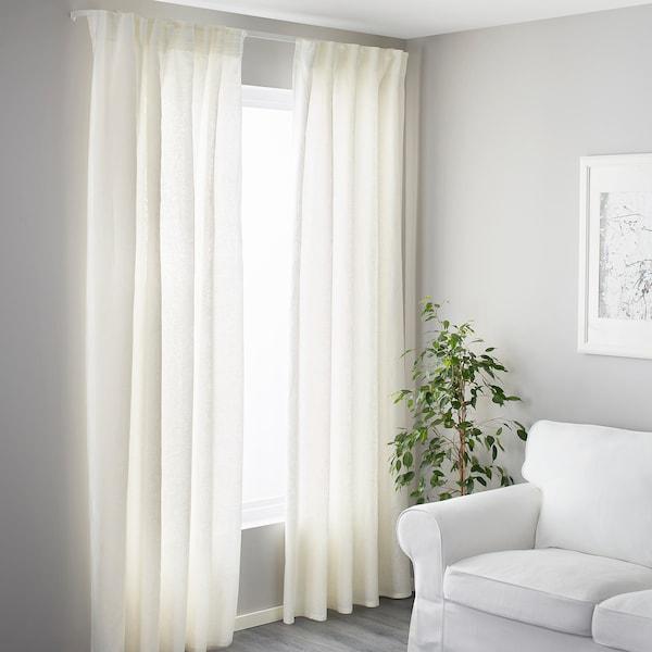 VIDGA Ferragem de parede, branco, 6 cm