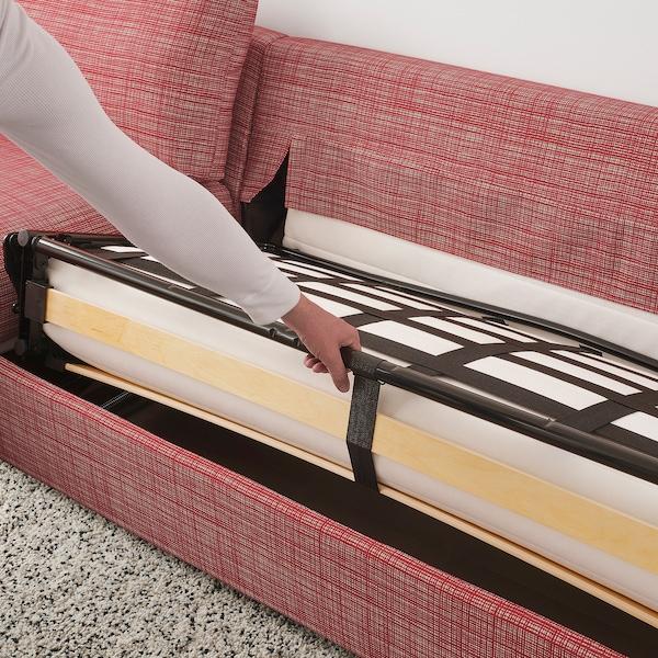 VIMLE sofá-cama 3 lugares c/chaise longue/Dalstorp multicor 53 cm 83 cm 68 cm 164 cm 271 cm 98 cm 241 cm 125 cm 68 cm 241 cm 55 cm 48 cm 140 cm 200 cm 12 cm