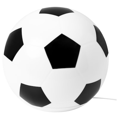 ÄNGARNA مصباح طاولة LED, نقش كرة قدم