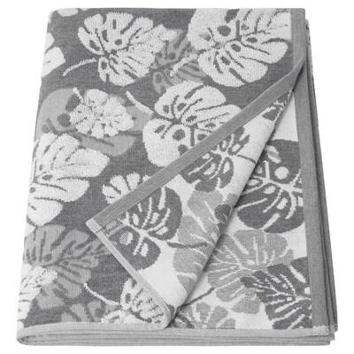 ALSKABÄCKEN Bath sheet, grey, 100x150 cm
