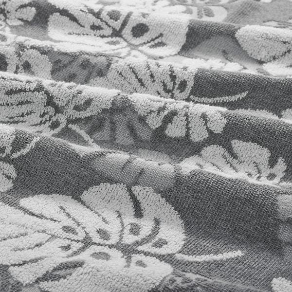 ALSKABÄCKEN Hand towel, grey, 40x70 cm