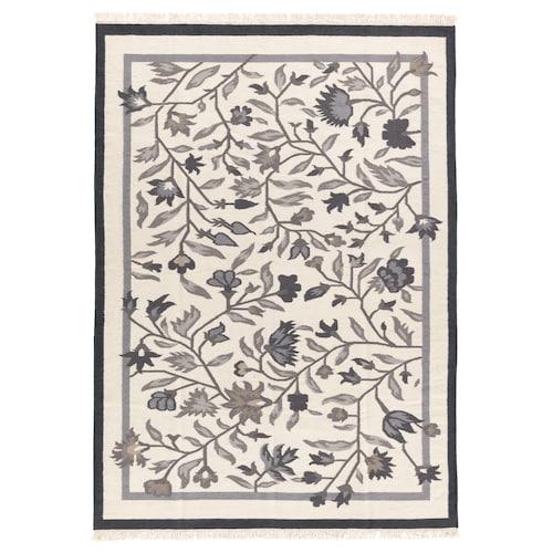 ALVINE rug, flatwoven handmade grey 240 cm 170 cm 4 mm 4.08 m² 1500 g/m²