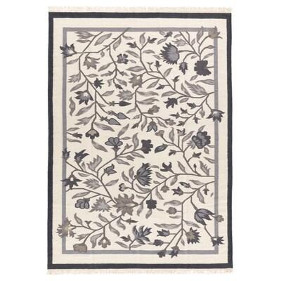 ALVINE سجاد، غزل مسطح, صناعة يدوية رمادي, 170x240 سم