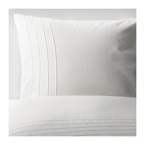 ALVINE STRÅ Quilt cover and pillowcase IKEA The combed cotton gives the bedlinen an extra smooth and even surface which feels soft against your skin.