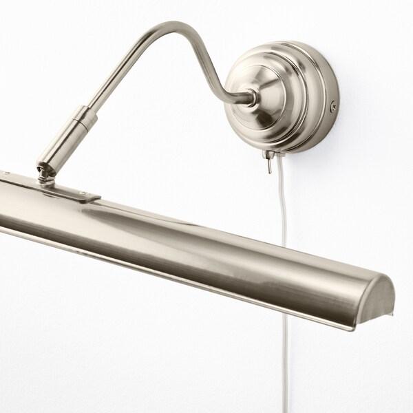 ÅRSTID LED picture lighting, nickel-plated