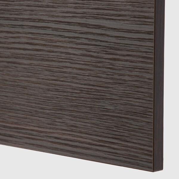 ASKERSUND cover panel dark brown ash effect 39.0 cm 86 cm 39 cm 86.0 cm 1.3 cm