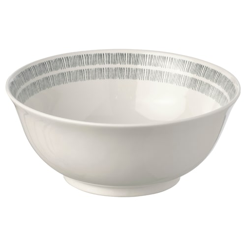 ÅTERBLICK bowl stoneware white 8 cm 20 cm