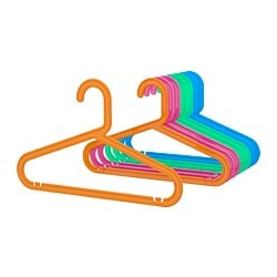 BAGIS children's coat-hanger, assorted colours mixed colours