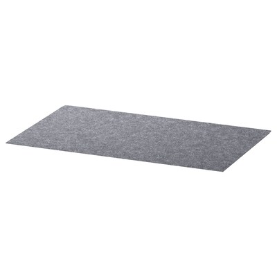 BESTÅ Drawer mat, grey, 32x51 cm