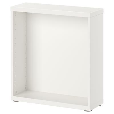 BESTÅ اطار, أبيض, 60x20x64 سم