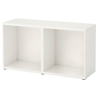BESTÅ هيكل, أبيض, 120x40x64 سم