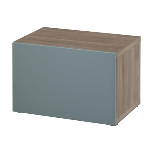 BESTÅ Shelf Unit With Door   White/Selsviken High Gloss/white   IKEA