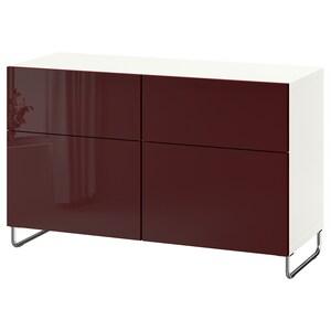Colour: White selsviken/sularp/high-gloss dark red-brown.