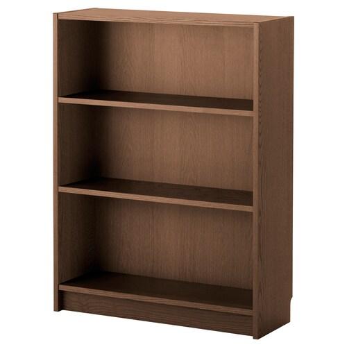 BILLY bookcase brown ash veneer 80 cm 28 cm 106 cm 30 kg