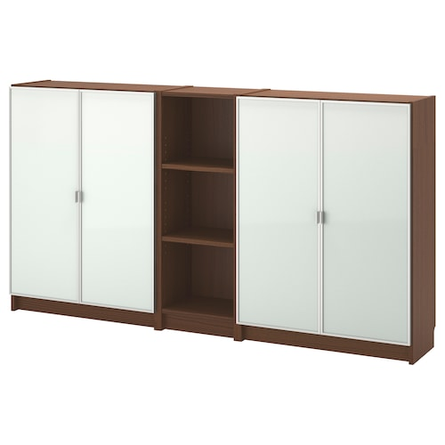 BILLY / MORLIDEN bookcase brown ash veneer 200 cm 30 cm 106 cm 30 kg