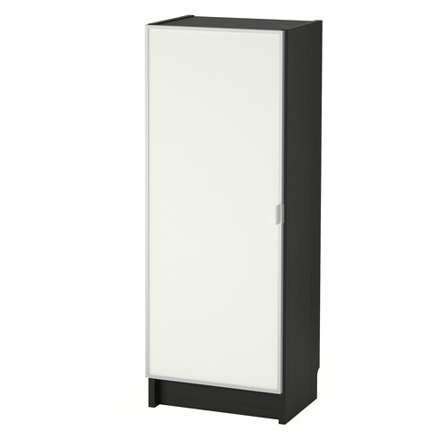 BILLY / MORLIDEN bookcase with glass door black-brown/glass 40 cm 30 cm 106 cm 14 kg