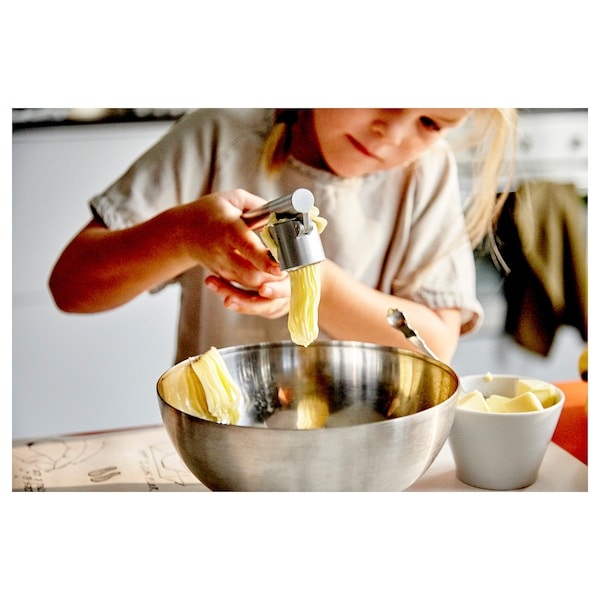 BLANDA BLANK Serving bowl, stainless steel, 28 cm