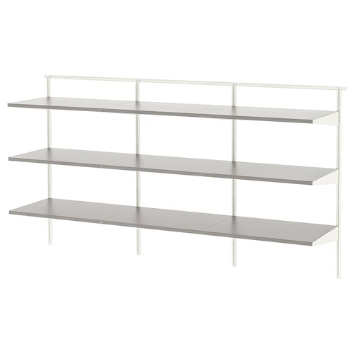 BOAXEL 3 sections white/grey 182.0 cm 40.0 cm 100.6 cm