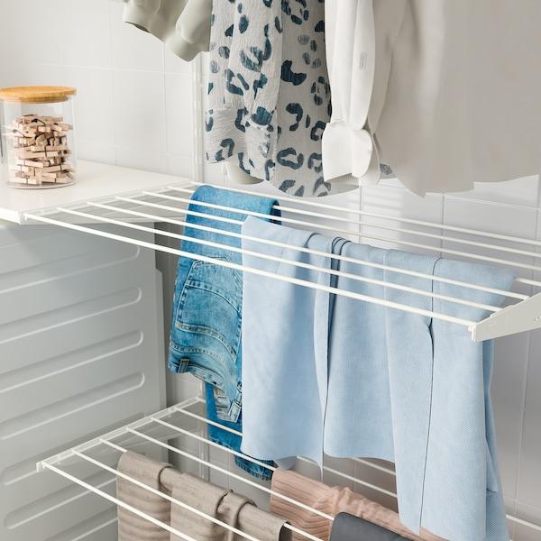 BOAXEL Drying rack, white, 60x40 cm