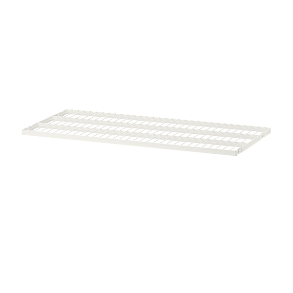 BOAXEL رف سلكي, أبيض, 80x40 سم