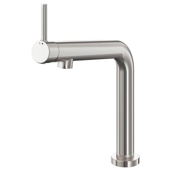 BOSJÖN Kitchen mixer tap, stainless steel colour