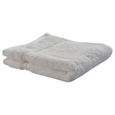 BREDASUND Washcloth, white, 30x30 cm