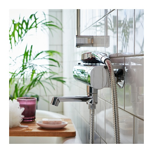 BROGRUND Thermostatic bath/shower mixer IKEA 10 year guarantee.   Read about the terms in the guarantee brochure.