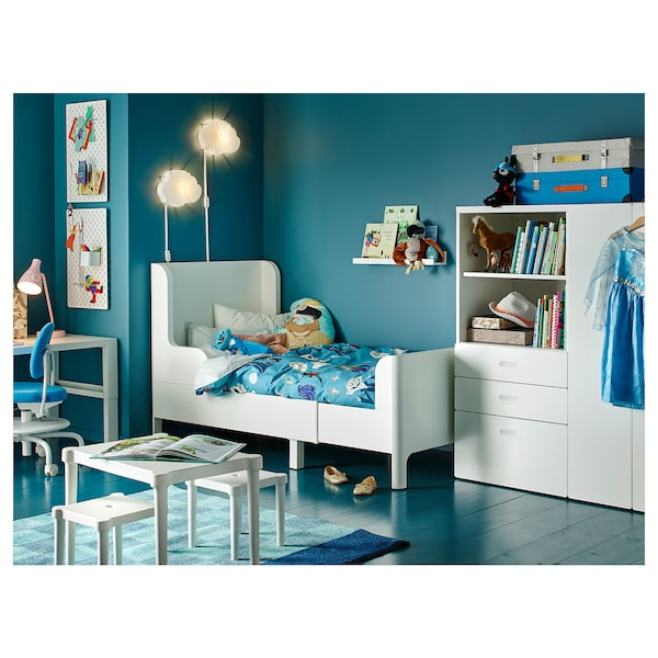 IKEA BUSUNGE Extendable bed