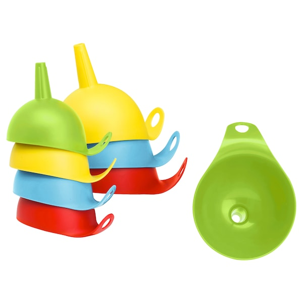CHOSIGT Funnel, set of 2, assorted colours