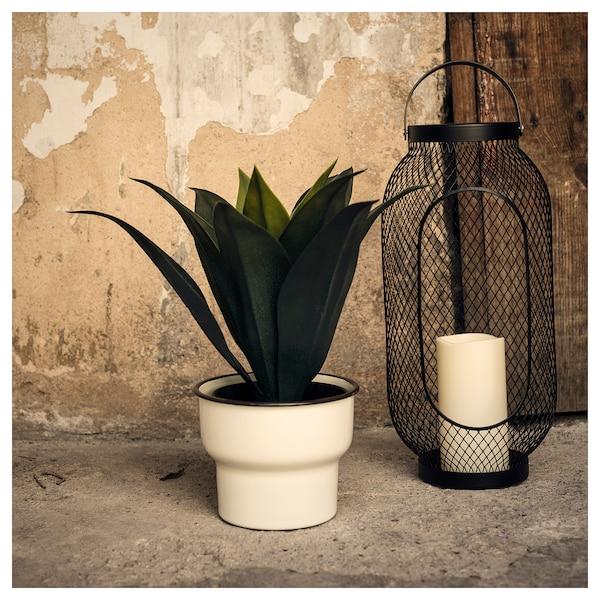 CITRONSYRA آنية نباتات, داخلي/خارجي/أبيض, 15 سم