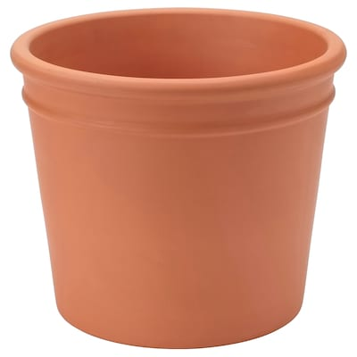 CURRYBLAD Plant pot, outdoor terracotta, 26 cm