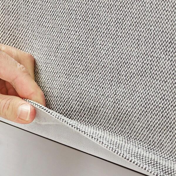 DELAKTIG Cover for backrest/cushion, Tallmyra white/black
