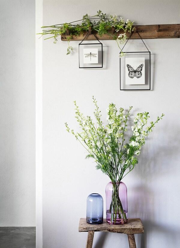 DRÖMSK مزهرية, زهري, 26 سم