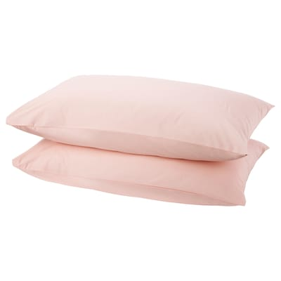 DVALA Pillowcase, light pink, 50x80 cm