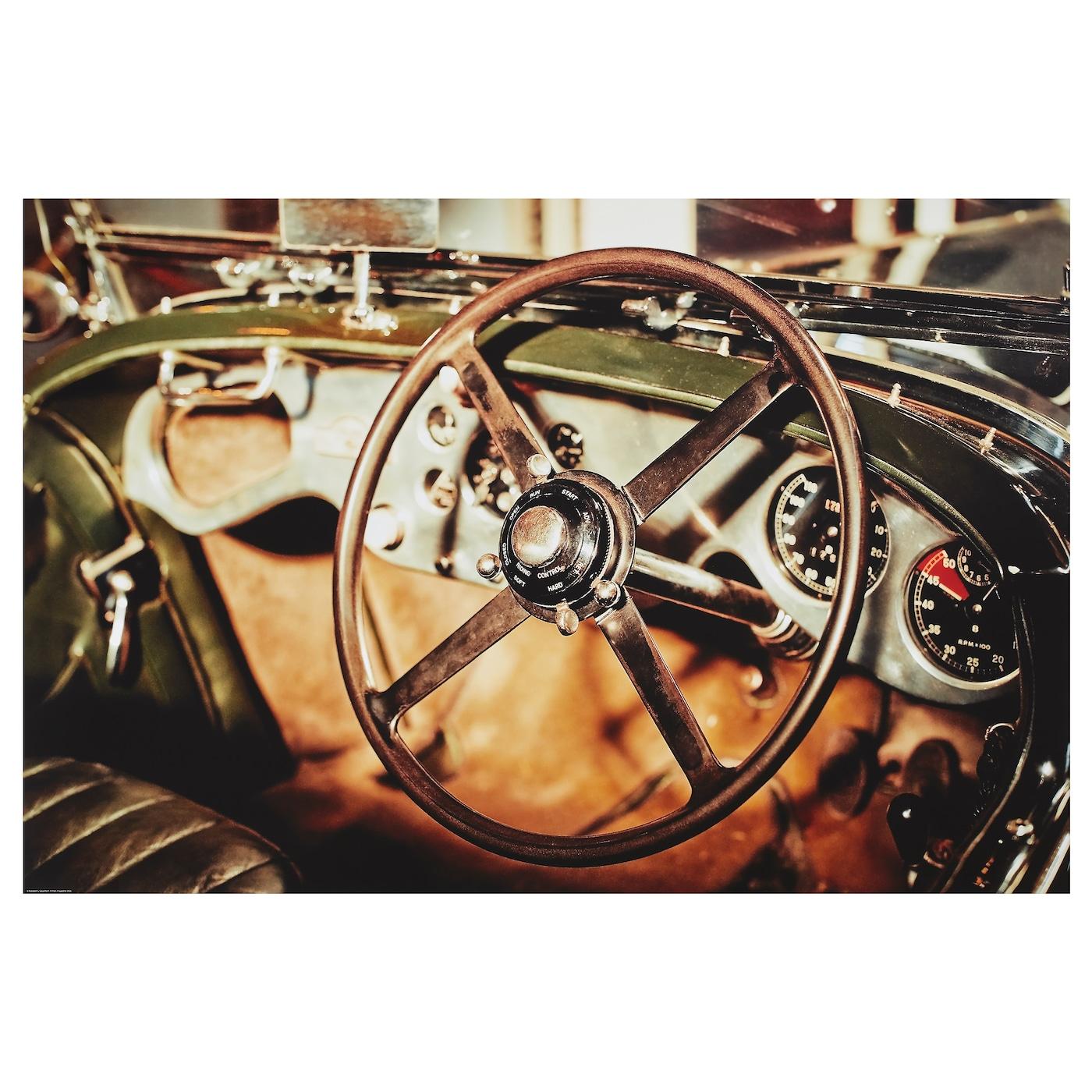 Car Steering Wheel IKEA. 303.776.52 Edelvik Poster