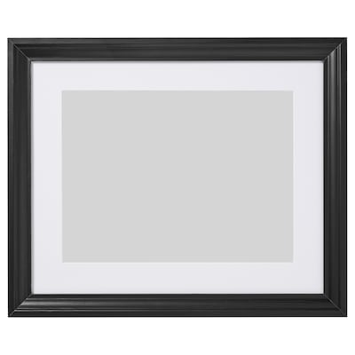 EDSBRUK Frame, black stained, 40x50 cm