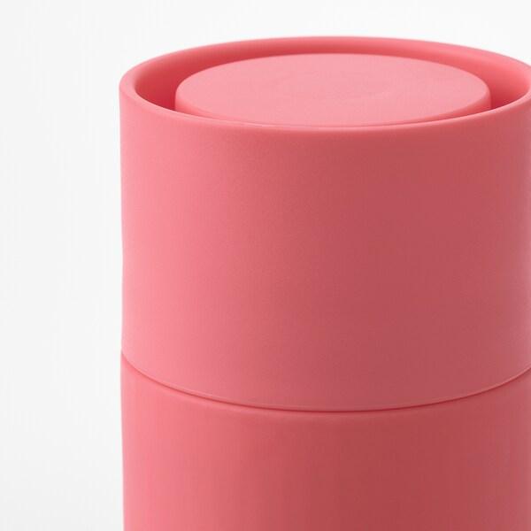 EFTERSTRÄVA Travel mug, pink, 0.5 l